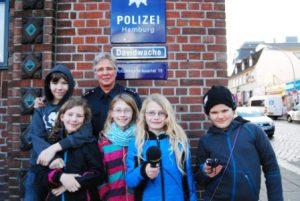 Polizei-Gruppenfoto